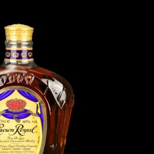 Whisky canadien blend - 70cl - Crown Royal - Couleur