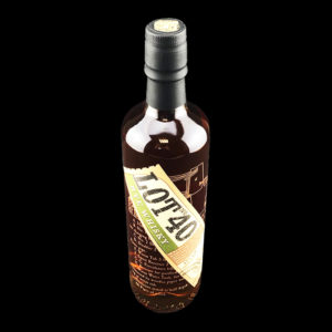 Whisky Rye - Bouteille 70cl - Lot n°40 - Dessus